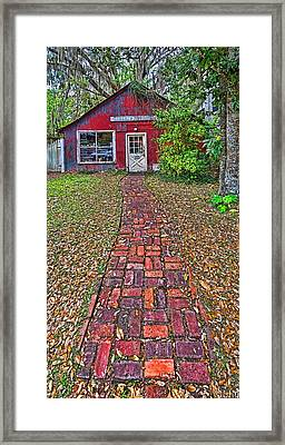 Framed Print featuring the photograph 6051-213 by Lewis Mann
