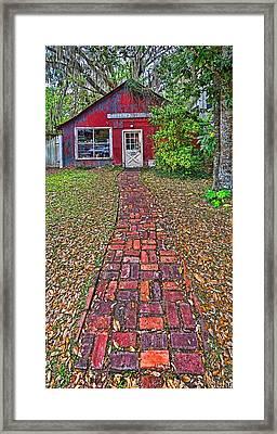 6051-213 Framed Print by Lewis Mann