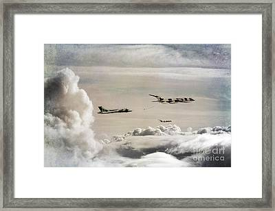 607 Refuelling Framed Print