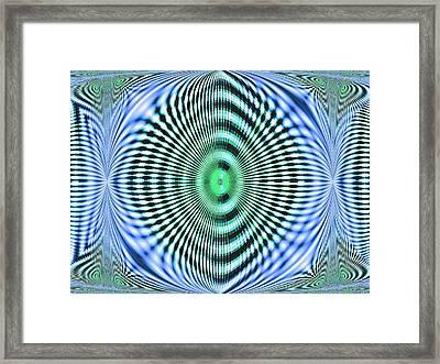 60s Time Framed Print by Aliceann Carlton