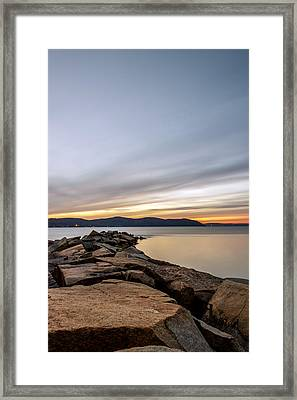 Framed Print featuring the photograph 60secs Of Light by Anthony Fields