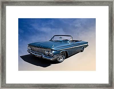 '61 Impala Framed Print by Douglas Pittman