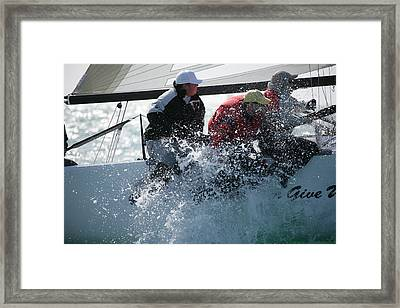 Key West Race Week Framed Print