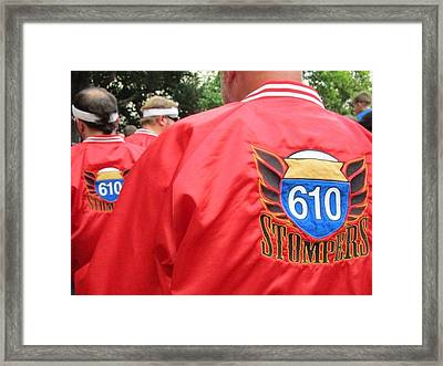 610 Stompers - New Orleans La Framed Print