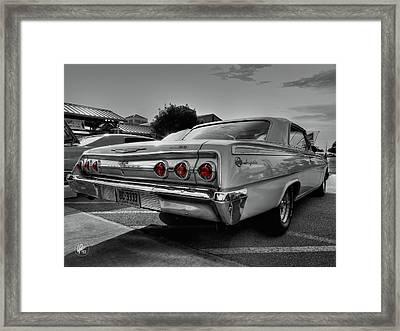 '62 Impala Ss 001 Framed Print by Lance Vaughn