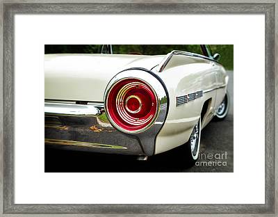 62 Thunderbird Tail Light Framed Print