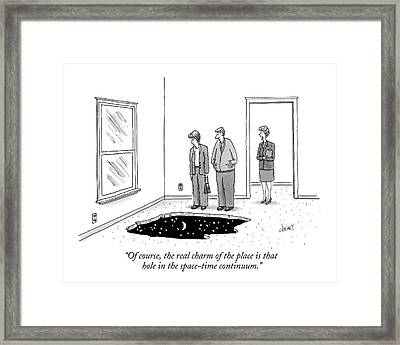 Of Course, The Real Charm Of The Place Is That Framed Print