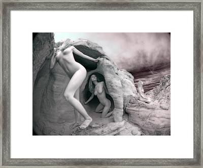 6228 Three Levels Of Understanding  Framed Print
