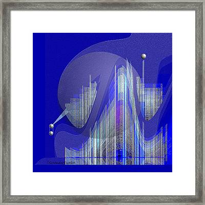629 - City Of Future 5 .... Framed Print