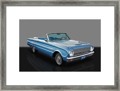 63 Ford Falcon Framed Print