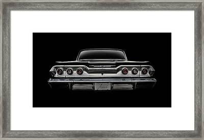 '63 Impala Framed Print by Douglas Pittman