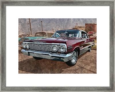 '63 Impala Framed Print