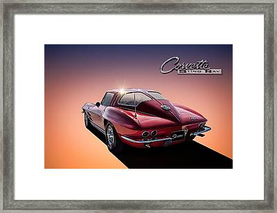 '63 Stinger Framed Print by Douglas Pittman