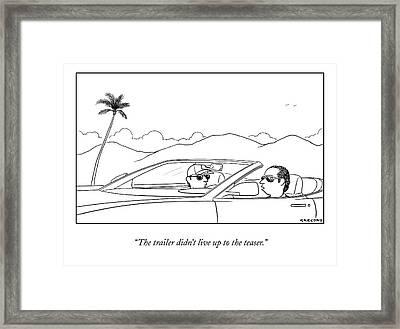 New Yorker September 21st, 2009 Framed Print