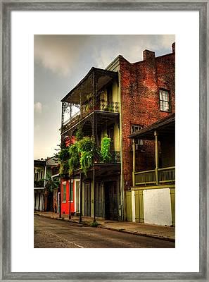 632 Dumaine Street Framed Print