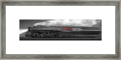 6339 On The Move Panoramic Framed Print by Mike McGlothlen