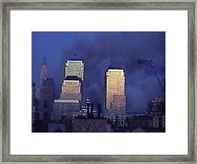 #62 Sands Of Time Framed Print