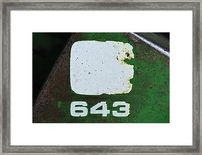 643 Framed Print by Christi Kraft