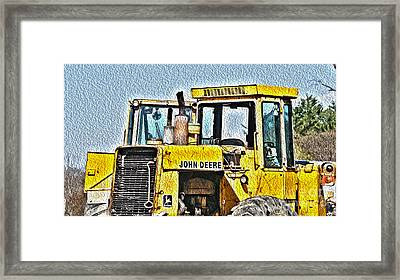 644e - Automotive Recycling Framed Print