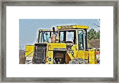 644e - Automotive Recycling Framed Print by Crystal Harman