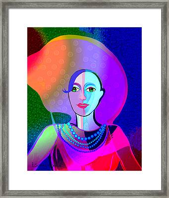 646 - Ice And Passion Framed Print by Irmgard Schoendorf Welch