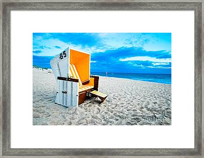 65 Invites Framed Print by Hannes Cmarits