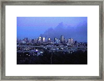 #63 Sands Of Time Framed Print