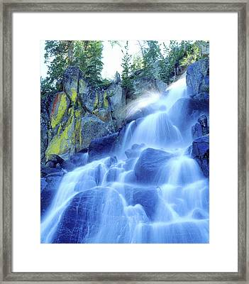 Usa, California, Sierra Nevada Mountains Framed Print