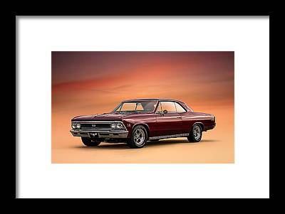 Chevy Chevelle Framed Prints