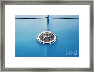 66 Corvette Style Framed Print by Tim Gainey