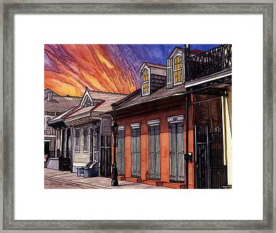 66 Framed Print by John Boles