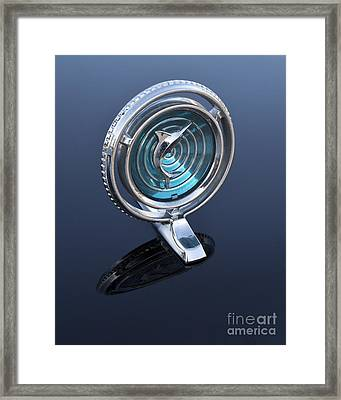 66 Marlin Hood Ornament Framed Print