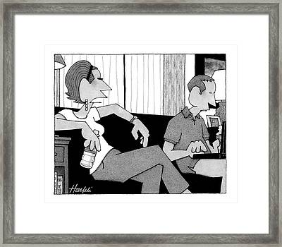 When You Say Framed Print
