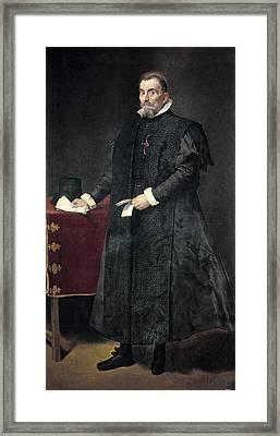 Velazquez, Diego Rodr�guez De Silva Framed Print