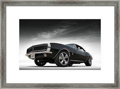 '67 Camaro Rs Framed Print by Douglas Pittman