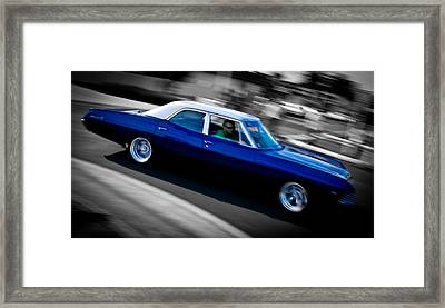 67 Chev Impala Framed Print by Phil 'motography' Clark