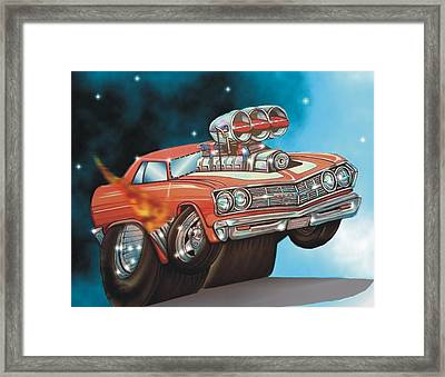 67 Chevelle Framed Print by Christopher Fresquez