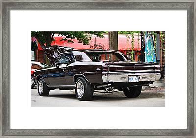 67' Chevelle Classic Framed Print