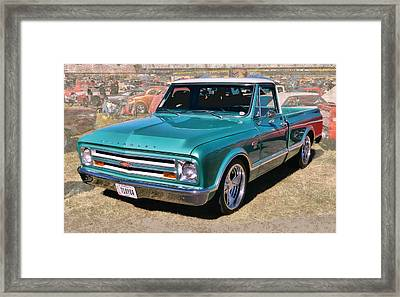 '67 Chevy Truck Framed Print