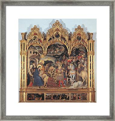 Italy, Tuscany, Florence, Uffizi Framed Print by Everett