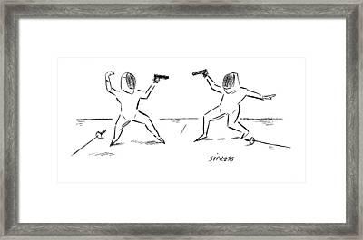 New Yorker November 27th, 2006 Framed Print by David Sipress