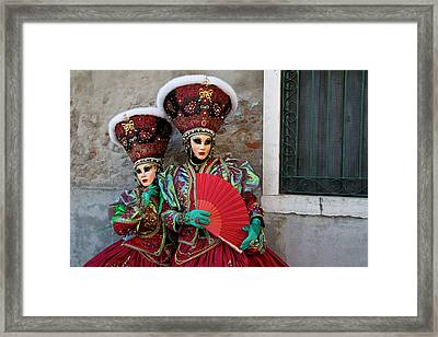 Venice At Carnival Time, Italy Framed Print by Darrell Gulin