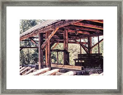 676 Sl Sutters Mill 4 Framed Print by Chris Berry