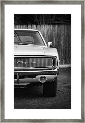 '68 Charger Framed Print by Gordon Dean II