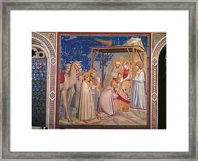 Italy, Veneto, Padua, Scrovegni Chapel Framed Print by Everett