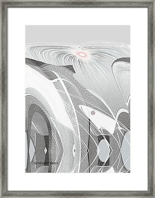 683 -  Arctic  Spring  Framed Print by Irmgard Schoendorf Welch