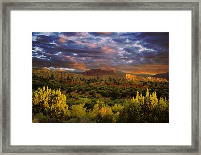 Capitol Reef National Park Framed Print