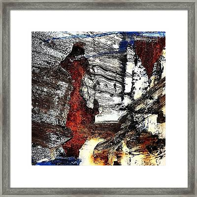 Abstract Post 4 Framed Print