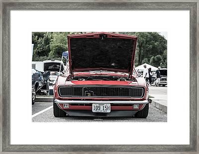69 Camaro Framed Print by Ryan Bush