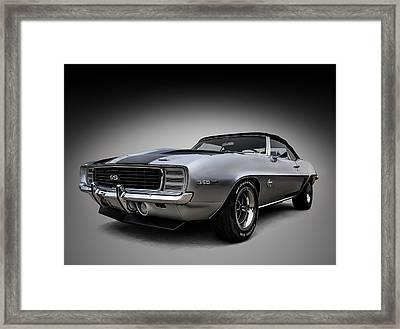 '69 Camaro Ss Framed Print